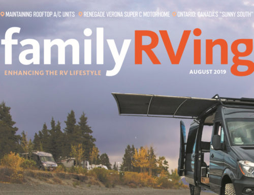 SureShade RV Shade Featured in Family RVing Magazine